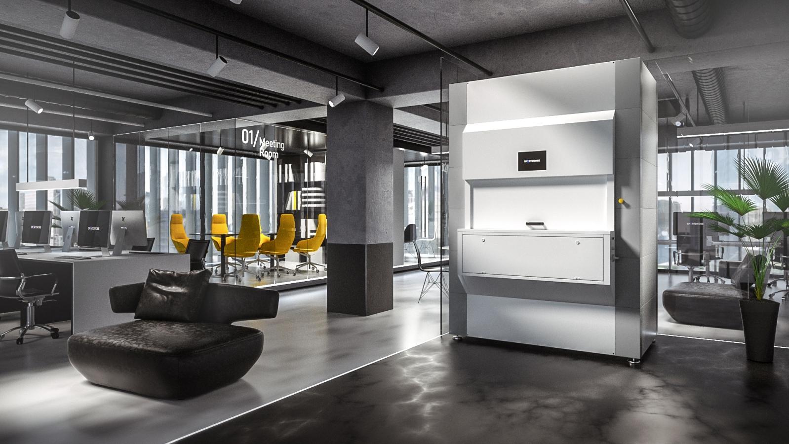 SmartDrobe-in-Office